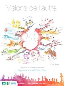 """carte du sommaire de """"Visions de l'autre, l'interculturel en francophonie"""""""