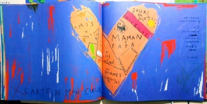 Sara Fanelli carte de mon coeur